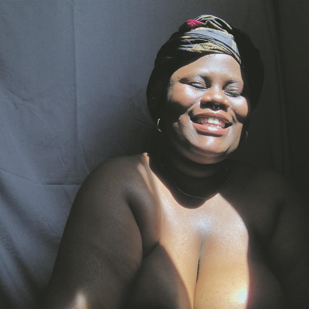Big and beautiful: Masego Rangaka advocates body positivity. Photo: supplied