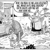 'n Goue Oue uit Fred se Pen: 12 Januarie 2016