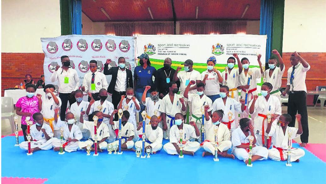 photo: supplied Winners selected KZN IKO Kyokushinkaikan selection tournament.