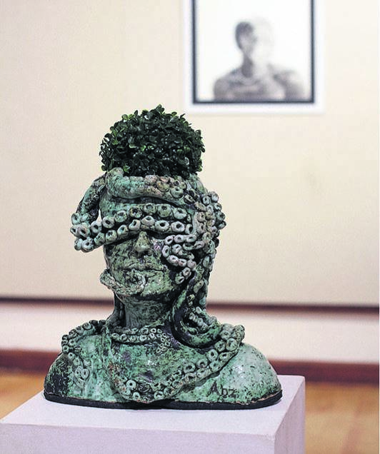 The piece titled Brave One by Abigail Barnard is one of the works of art shortlisted for the 2021 New Breed Art Competition. It is on exhibition at the Oliewenhuis Art Museum, as well as online. Photo: Supplied