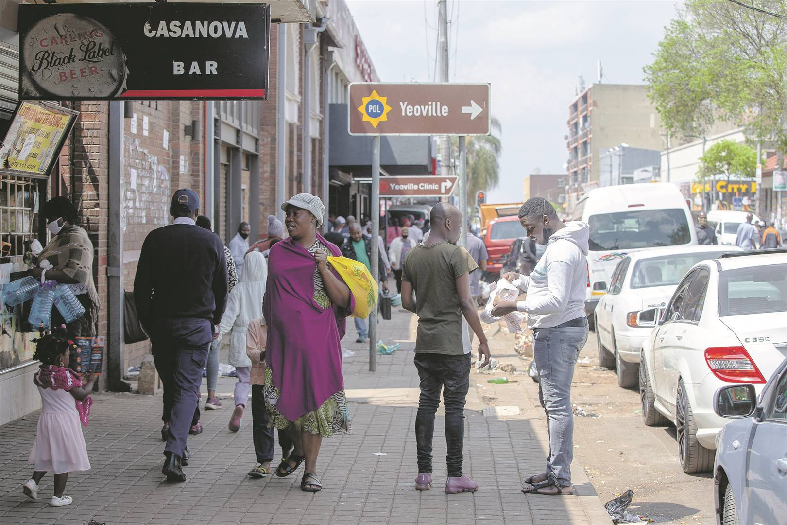Yeoville is a far cry from the vibrant node of activity it once was. Photo: Gallo Images