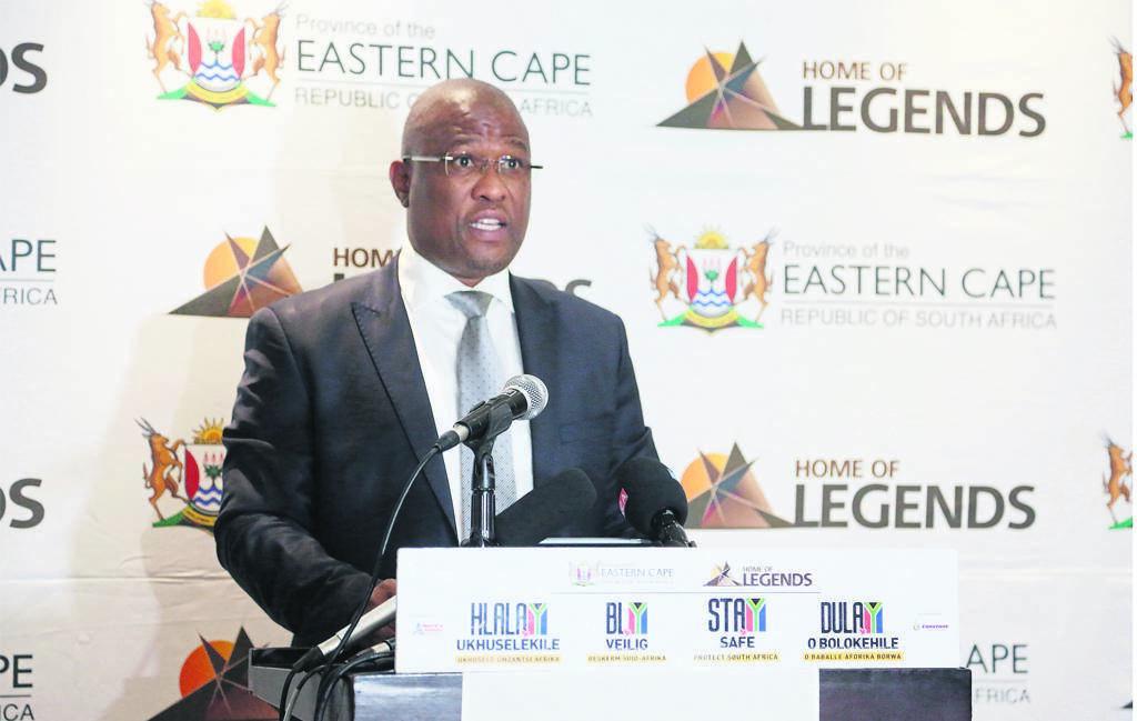 Eastern Cape Premier Oscar Mabuyane.                            Photo:archive