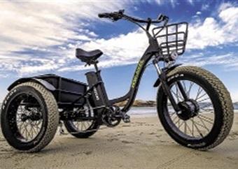 E-fiets 'n moderne help-my-trap