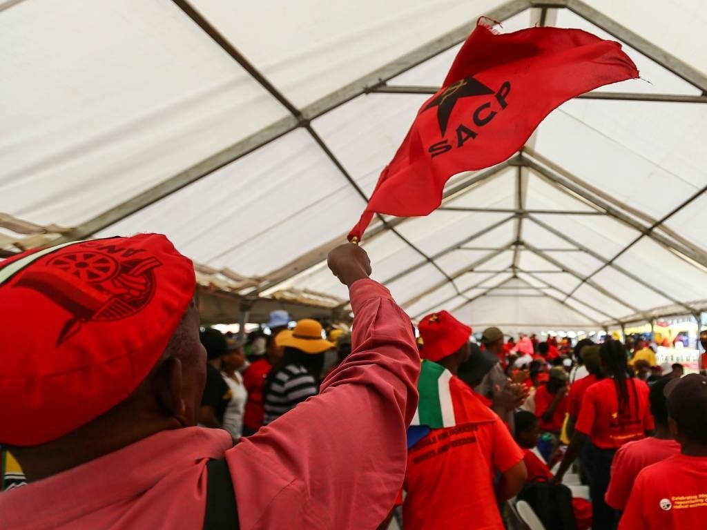 SACP supporters.