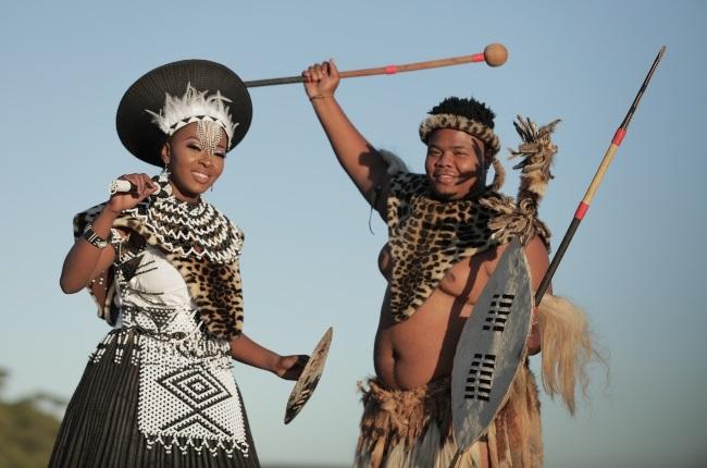 Thando and Siyacela from Isencane Lengane on Moja Love