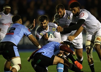 Sharks rue missed penalties, goal-kicking opportunities in Cardiff defeat