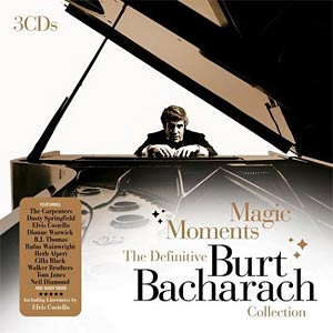 Burt Bacharach 3CD album cover