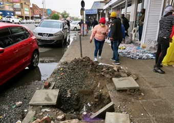 Abandoned R32m taxi rank provides this Gauteng community with a lifeline