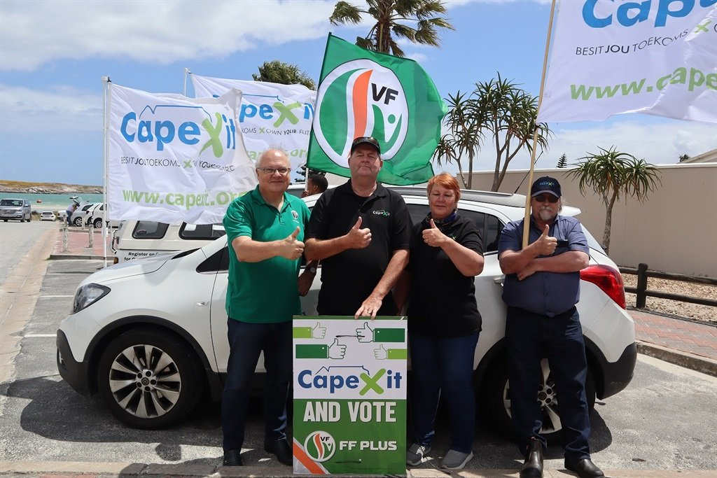 FF Plus formally joins secessionist CapeXit in awareness campaign - News24