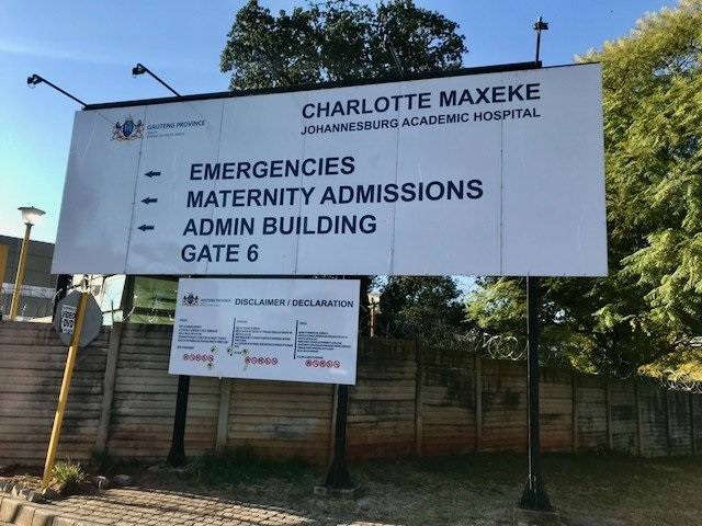 Charlotte Maxeke Johannesburg Academic Hospital has been closed since a fire in April this year. Patients have had to seek treatment elsewhere.