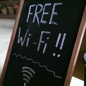 Free Wi-Fi. (Duncan Alfreds, Fin24)