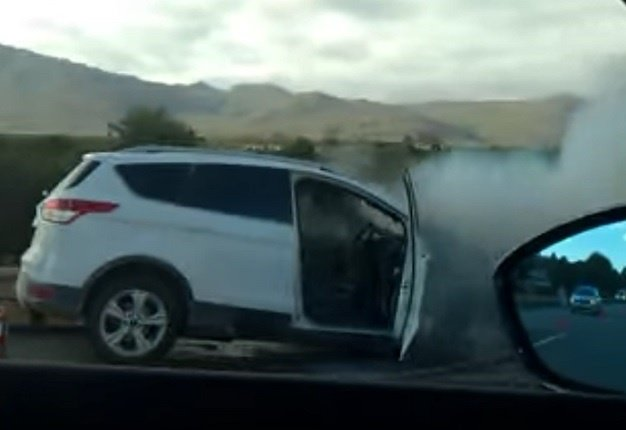 Not just SA, Ford Kuga up in flames in New Zealand | Wheels24