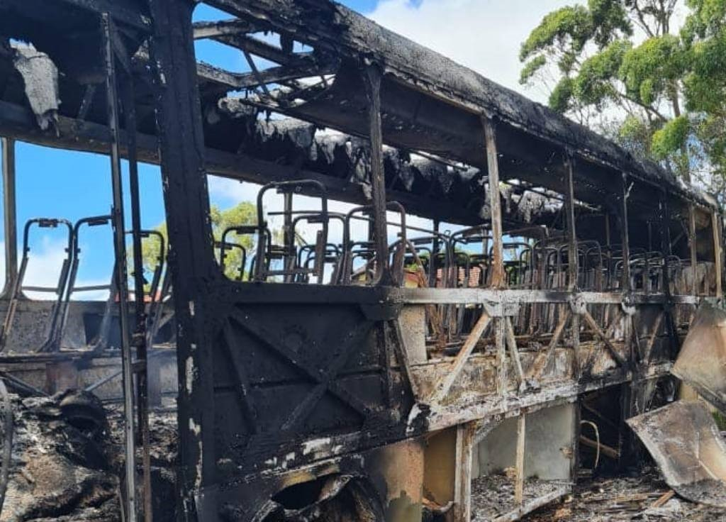 AB350 bus company is under siege from a syndicate torching its buses.