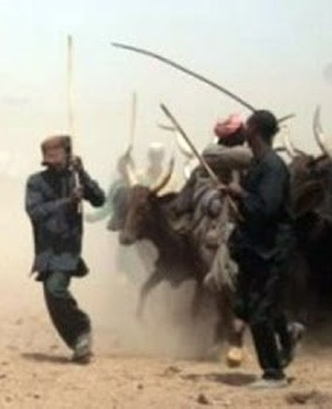 Fulani herdsmen (Via Twitter)