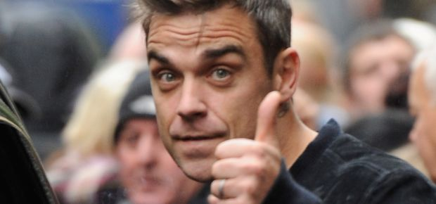 Robbie Williams. (Getty Images)