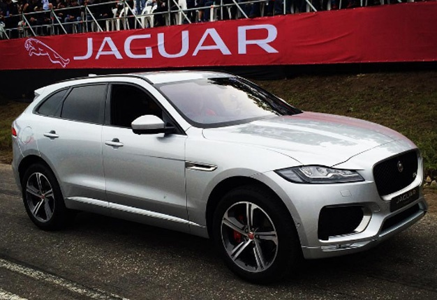 Finally Here Jaguar South Africa Unveiled Its Aned F Pace At The 2016 Simola Hillclimb Image Wheels24 Sean Parker