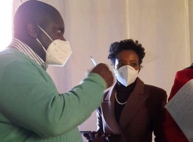 Deputy Public Protector Advocate Kholeka Gcaleka has conducted a walkabout at Chris Hani Baragwanath Hospital.