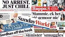 WATCH: 5 Sunday papers in 1 minute