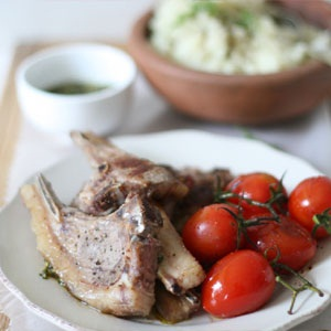 recipes healthy lamb chops