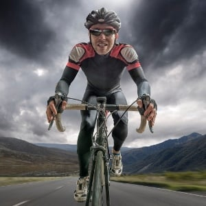 chocolate boosts cycling performance