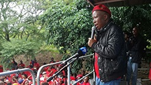 WATCH: EFF rallies for jailed KZN student leader