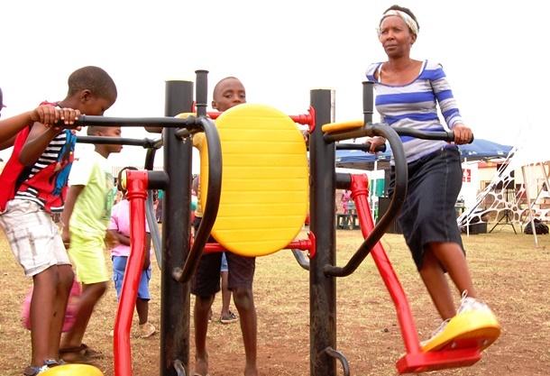 Phiri Park outdoor gym