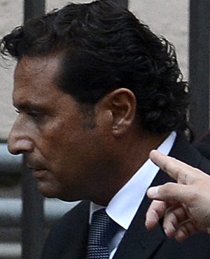 The captain of the Costa Concordia Francesco Schettino. (File, AFP)