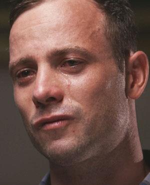 Oscar Pistorius. (Picture courtesy Carte Blanche)