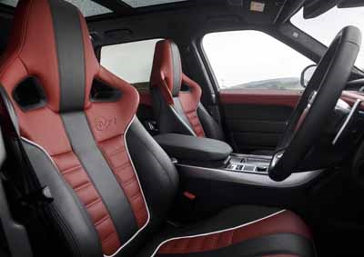 Range Rover Svr For Sale >> Check the seats in SA's newest supercar! | Wheels24