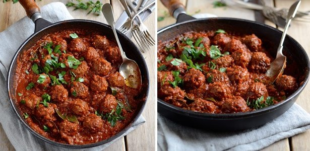 recipe, meatballs, spanish,dinner