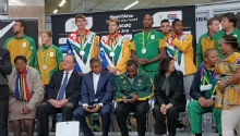 WATCH: SA's Olympic heroes arrive home