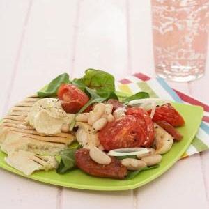 recipe, salad, chicken, beans, light meals,side di