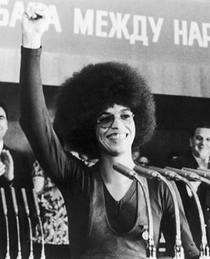 POWER American human rights activist Angela Davis will deliver the 17th annual Steve Biko Memorial Lecture at Unisa. Picture: Getty images