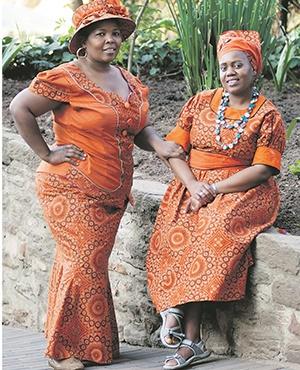 Rose Kweba and Lebo Selialia from Boitumelo Community Organisation. Picture: Eugene Goddard/EG Media