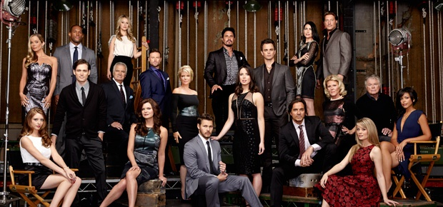 The Bold and the Beautiful cast. (Bell-Phillip Television Productions)