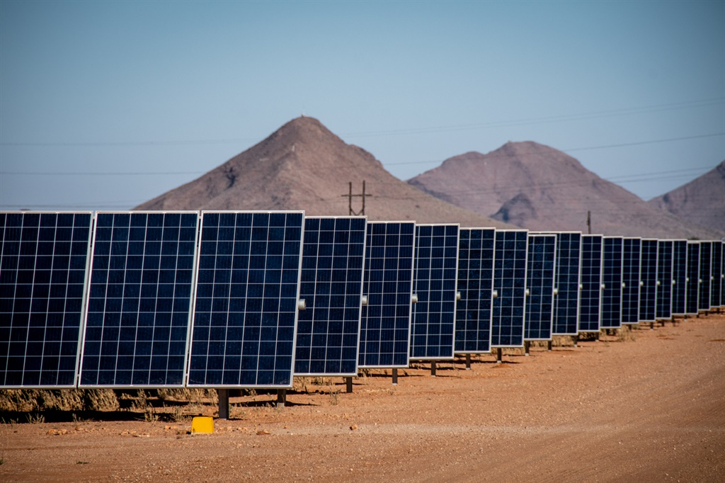 Aggeneys Solar Project, Northern Cape. Image supplied/ Warren Williams.