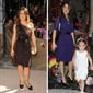 Latin beauty, Salma Hayek is stunning as she is pictured here with her daughter Valentina. She sure gets her awesome style from her mom!