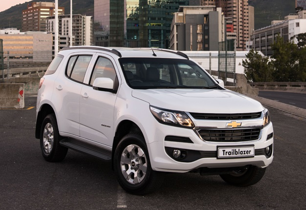 Chev's new flagship SUV: New Trailblazer rolls into SA ...
