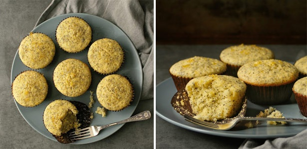 lemon, recipes , poppy seed,muffins