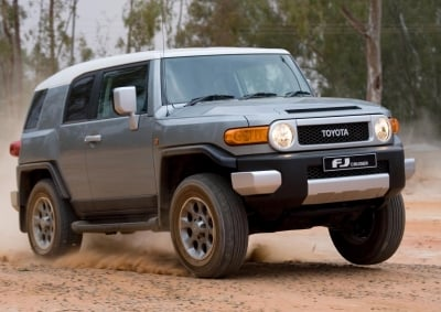 Giant Toyota Stand For JIMS Wheels - All new toyota models