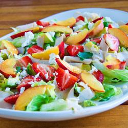 simply delicious, summer salad, food, salad, quick