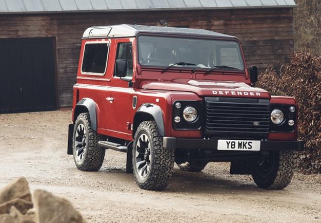 land rover unveils v8 edition to celebrate 70 years of defender wheels24. Black Bedroom Furniture Sets. Home Design Ideas