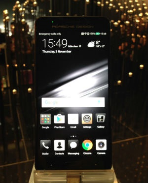 Smartphone maker Huawei has lifted the lid on its latest handset. (Lameez Omarjee)