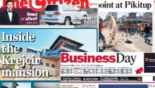 NEWSPAPERS: Municipality workers strike, Krejcir's mansion & downed Russian jet