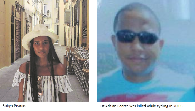 Stabbed student the daughter of PMB surgeon while cycling.