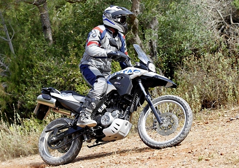 <B>BUILT FOR ADVENTURE:</b> The new G650 GS Sertão sports new features and improved suspension over the F650 GS Dakar.