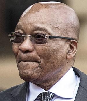 President Jacob Zuma. (Gianluigi Guercia, AFP)