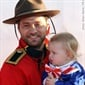 While dad Jason Priestley's costume is pretty good, we're partial to Ava's Uncle Sam look.