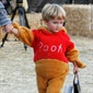 Many tots seem to love the dear Winnie the Pooh costume, especially Corey Feldman's son, Zen.