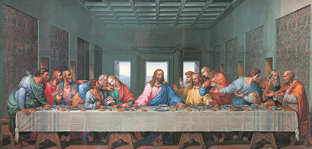the LAST SUPPER Leonardo da Vinci's painting is the most famous one of Jesus' Last Supper